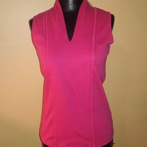 ⚘Rafaella sleeveless pink top NWT!!